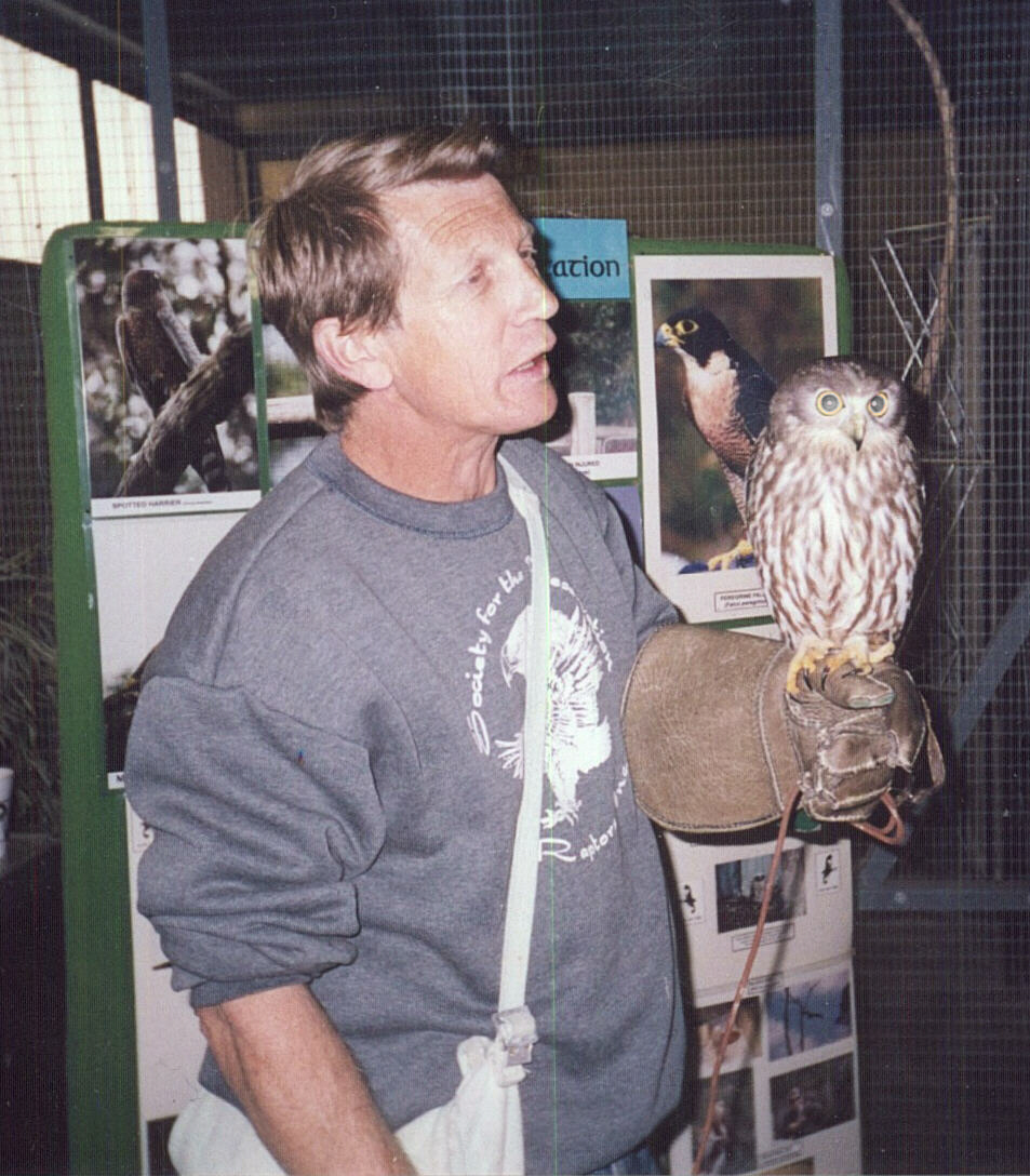 Phil Pain and Spook the Barking Owl